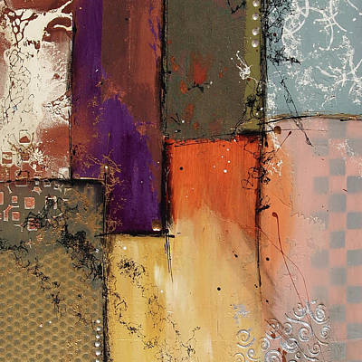 Painting - Small Invention #12 by Deborah Valiquet-Myers