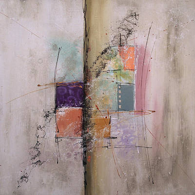 Painting - Small Invention No.2 by Deborah Valiquet-Myers