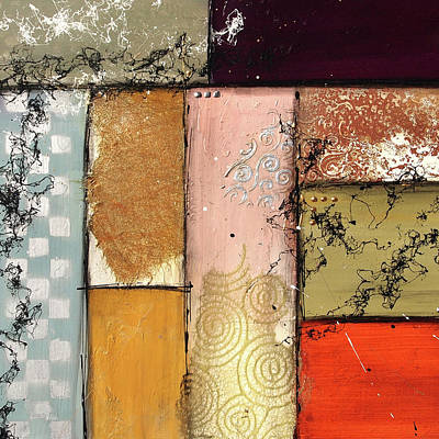 Painting - Small Invention #10 by Deborah Valiquet-Myers