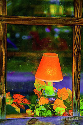 Photograph - Small Lamp by Rick Bragan