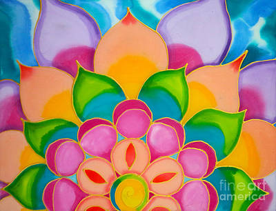 Painting - Small Lotus Caye Caulker Belize by Lee Vanderwalker