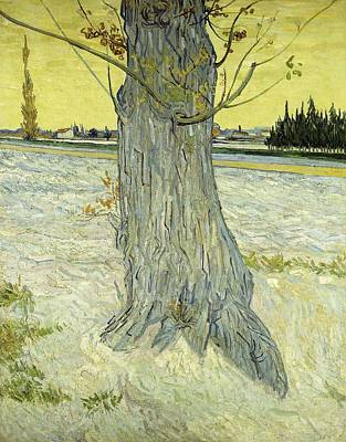 Painting - Small Pear Tree In Blossom Arles, April 1888 Vincent Van Gogh 1853  1890 by Artistic Panda