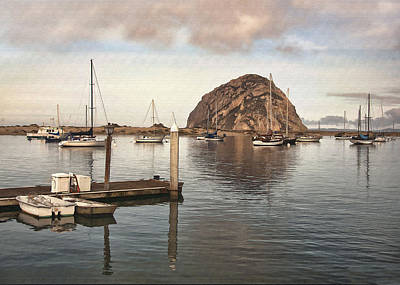 Digital Art - Small Pier by Sharon Foster
