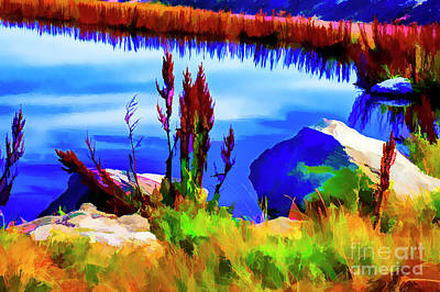 Digital Art - Small Pond by Rick Bragan