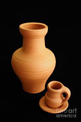 Small Pottery Items Art Print