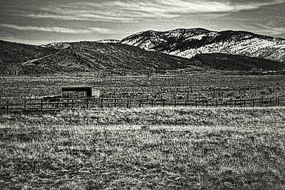 Photograph - Small Ranch Colorado Foothills by Roger Passman