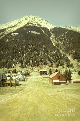 Art Print featuring the photograph Small Rocky Mountain Town by Jill Battaglia