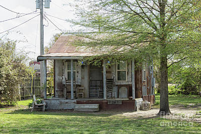 Photograph - Small Shack With Porch In Clarksdale by Patricia Hofmeester