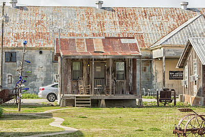 Photograph - Small Shack With Rocking Chairs On Porch  by Patricia Hofmeester