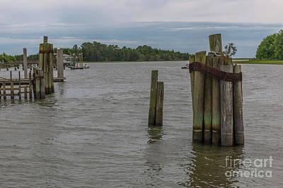 Photograph - Small Sleepy Fishing Village by Dale Powell