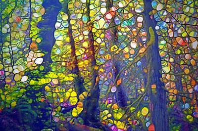 Digital Art - Small Spirits Of The Forest by Tara Turner