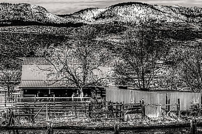 Photograph - Small Stable Loveland Colorado by Roger Passman
