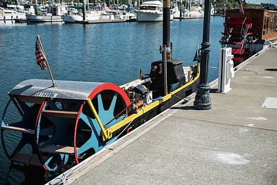 Photograph - Small Steam Boat 6 by Tom Cochran