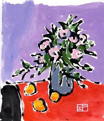 Small Still Life Art Print by Helen Pisarek