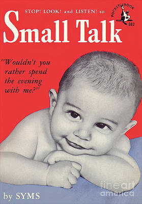 Painting - Small Talk by Photo Cover
