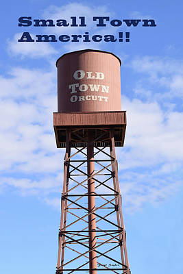 Photograph - Small Town America Orcutt California by Floyd Snyder
