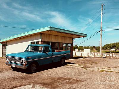 Photograph - Small Town Blues by Trish Hale