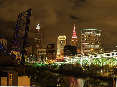 Photograph - Small Town Cleveland by Stewart Helberg