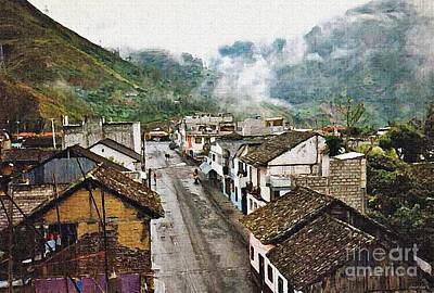 Photograph - Small Town Ecuador by Sarah Loft