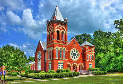 Photograph - Small Town Glory First United Methodist Church Warrenton Georgia  by Reid Callaway