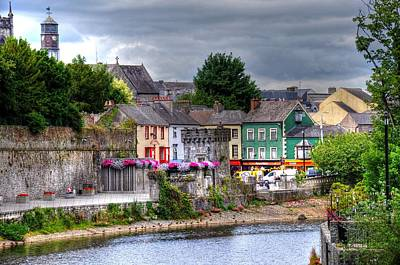 Small Town Ireland Art Print