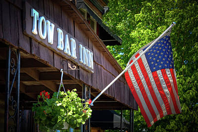 Photograph - Small Town Patriotism by David Patterson