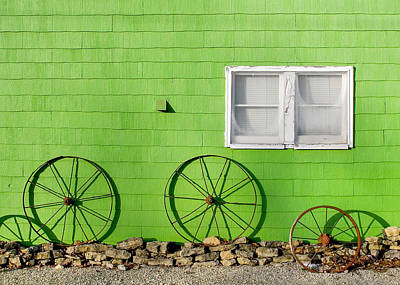 Monticello Photograph - Small Town Shadows by Todd Klassy