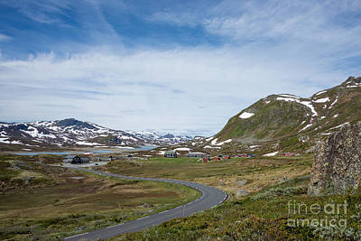Photograph - Small Village In A Jotunheimen Landscape by IPics Photography