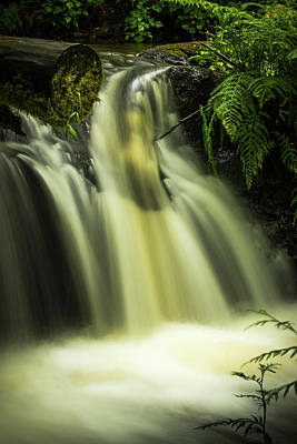 Photograph - Small Waterfall by Chris McKenna
