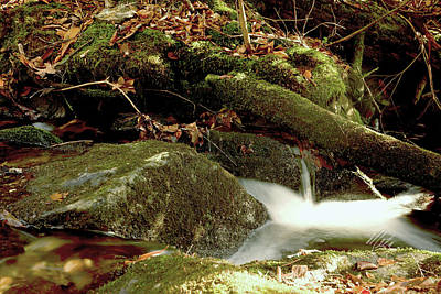 Photograph - Small Waterfall by Meta Gatschenberger