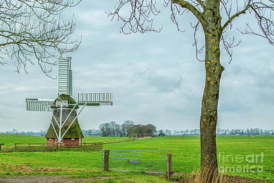 Photograph - Small Windmill by Patricia Hofmeester
