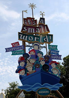 Photograph - Small World Cruising  by David Nicholls