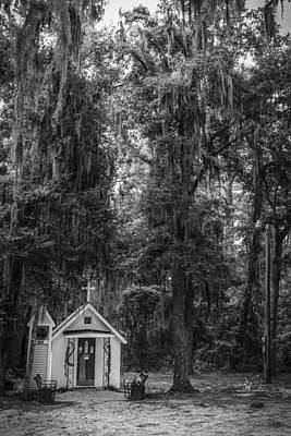 Photograph - Smallest Church In America Darien Georgia by Bradley R Youngberg