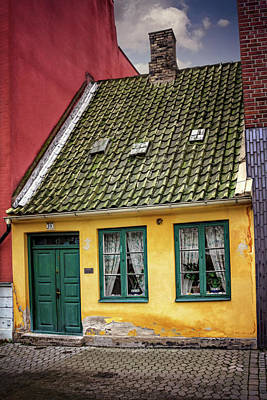 Old House Photograph - Smallest House In Malmo Sweden by Carol Japp