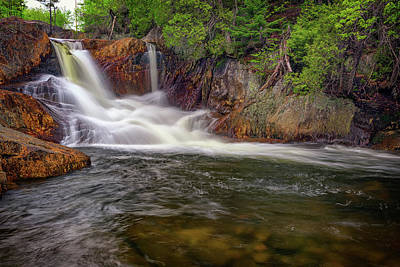 Photograph - Smalls Falls by Rick Berk