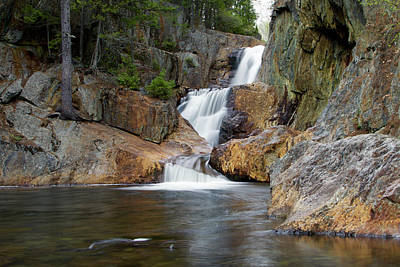 Franklin Township Photograph - Smalls Falls by Thomas Tuck