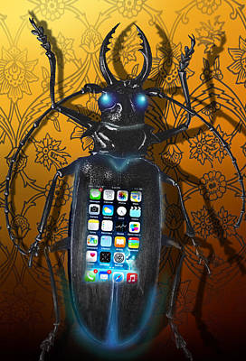 Digital Art - Smart Phone by Larry Butterworth