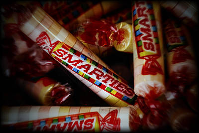 Child Photograph - Smarties by Rick Berk