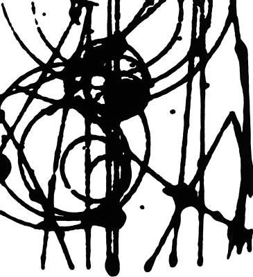 Smashing Atoms Number 2 Original by Keith Francis