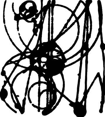 Smashing Atoms Number 3 Original by Keith Francis