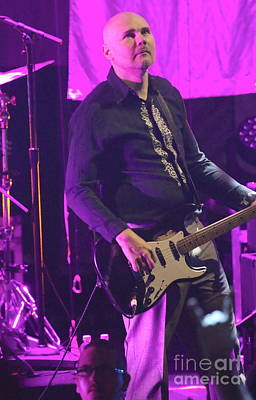 Smashing Pumpkins Photograph - Smashing Pumkins Billy Corgan by Concert Photos