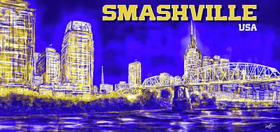 Digital Art - Smashville by Don Olea