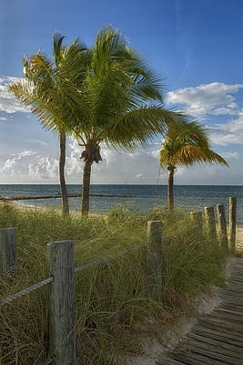 Photograph - Smathers Beach - Key West by Kim Hojnacki