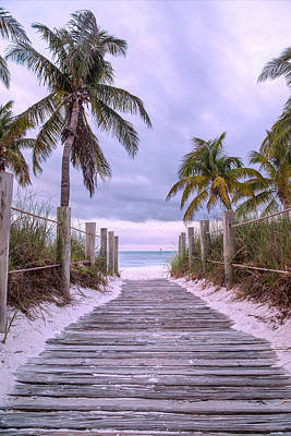 Royalty-Free and Rights-Managed Images - Smathers Beach Key West Paradise by Betsy Knapp