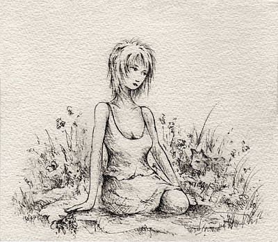 Smell The Roses Original by Rachel Christine Nowicki