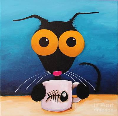 Smells Like Coffee Original by Lucia Stewart