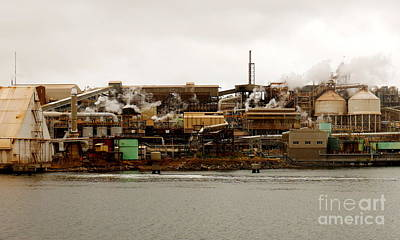 Photograph - Smelter Works by Lexa Harpell
