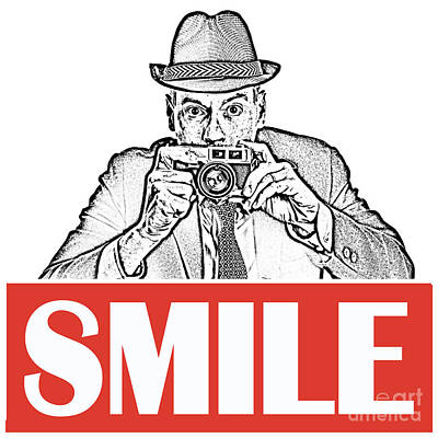 Photograph - Smile by Edward Fielding