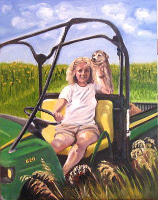 Painting - Smile For The Camera by Mary Hollinger