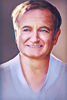 Digital Art - Smile by Karen Showell